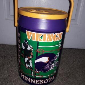 Minnesota Vikings Football Can Shaped Cooler